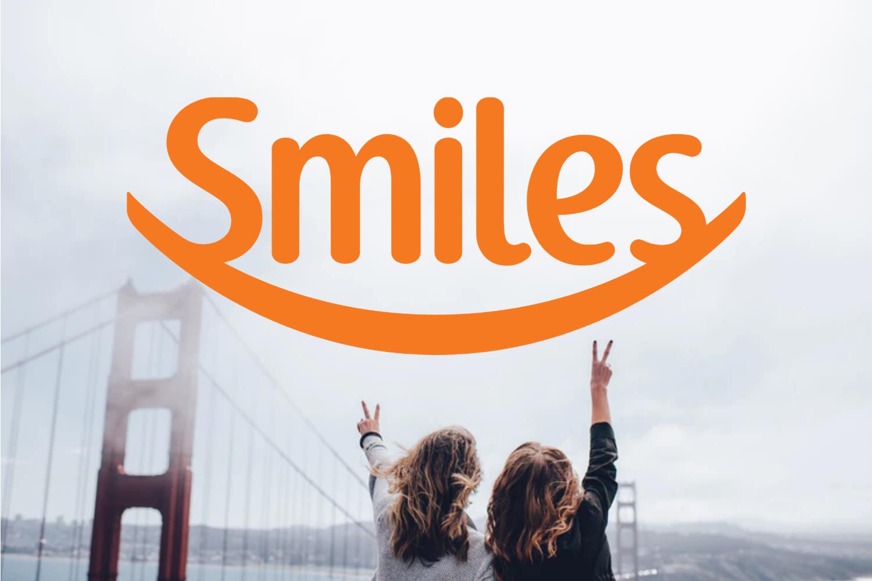 65% de desconto Smiles