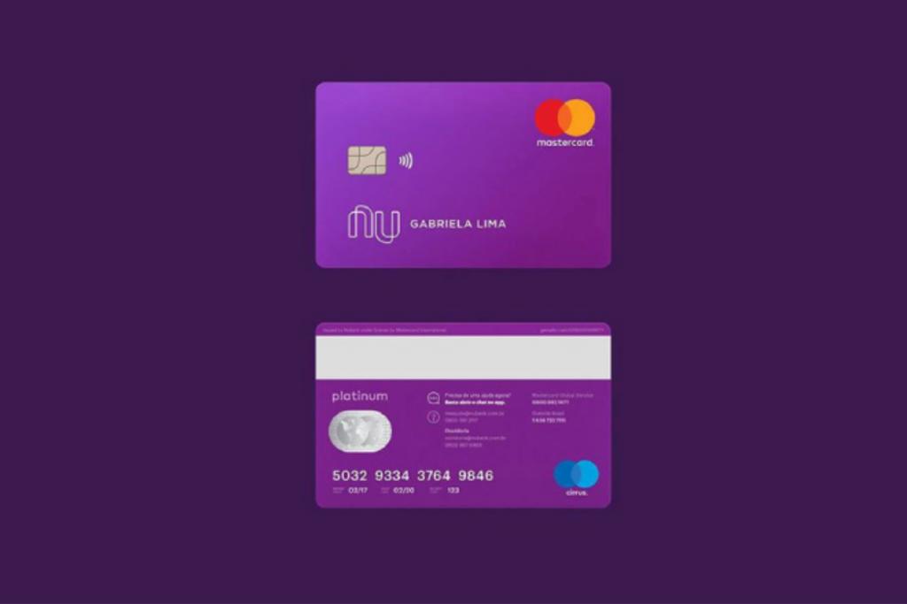 Cartão Platinum Nubank