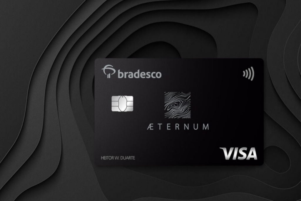 Bradesco Aeternum completa o top três de melhores cartões para acumular pontos em 2021