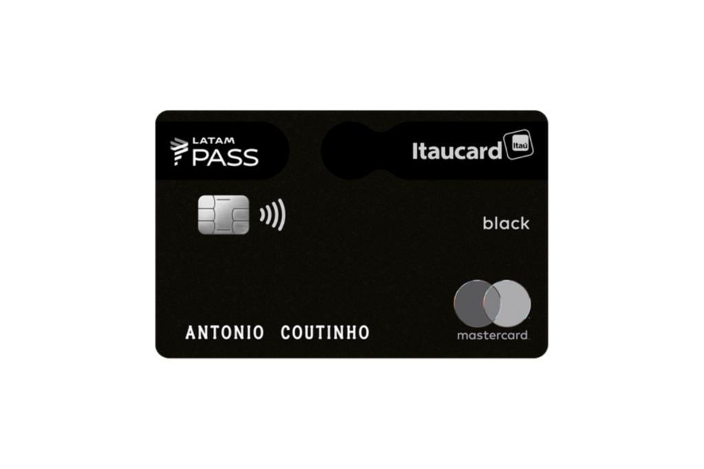 LATAM Pass Itaucard Mastercard Black
