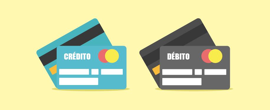 Veja as principais diferenças entre cartão de débito e crédito