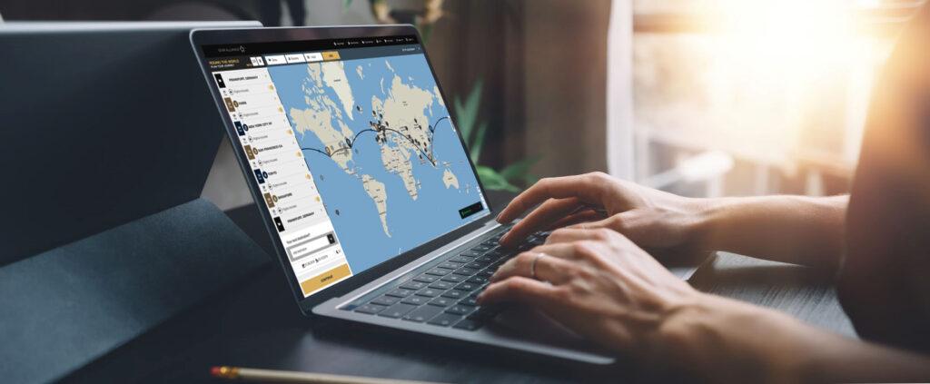 Nos sites das alianças aéreas é possível emitir todas os trechos da viagem de volta ao mundo em um único bilhete