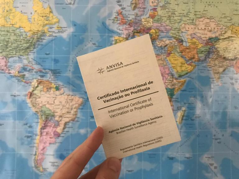 Países da Europa e Ásia exigem o Certificado Internacional de Vacinação
