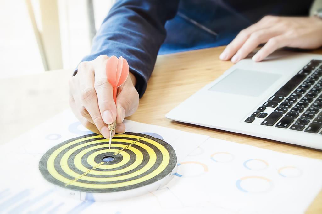 Ter um objetivo claro nos ajuda a potencializar os ganhos