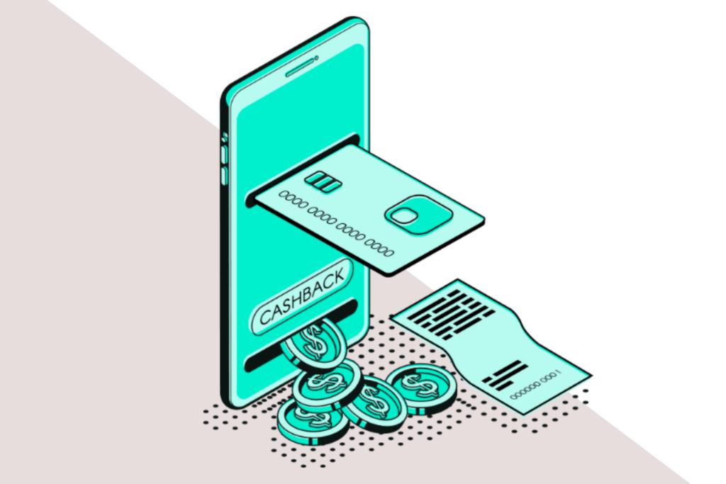 A plataforma também conta com cashback