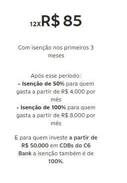 Custos C6 Bank
