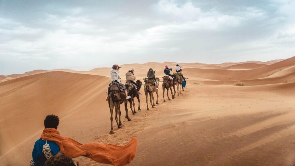 Deserto do Saara - Marrocos