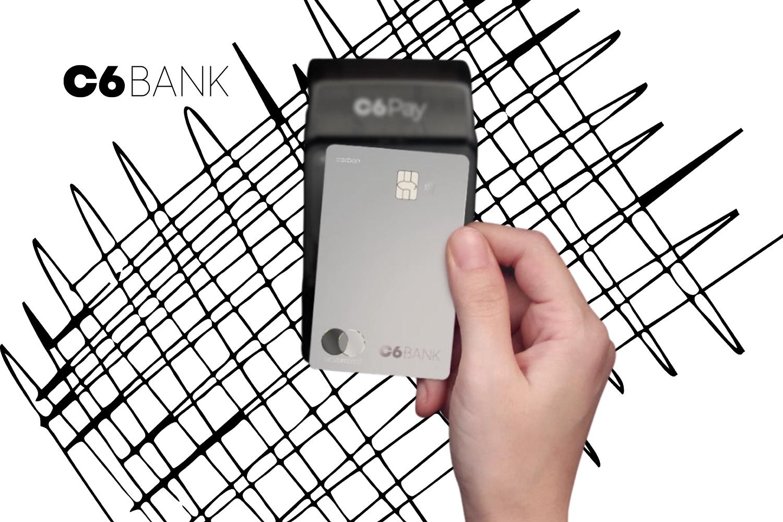 Limite no cartão C6 Bank