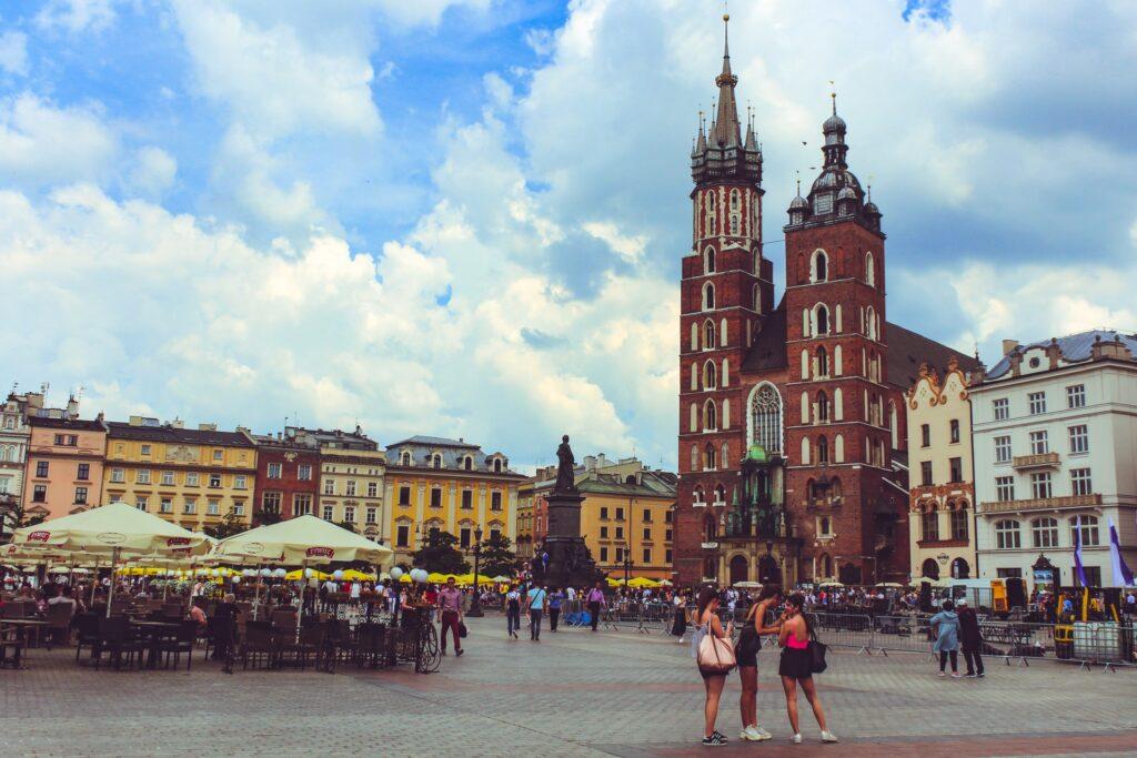 O passado da Cracóvia atrai milhões de turistas