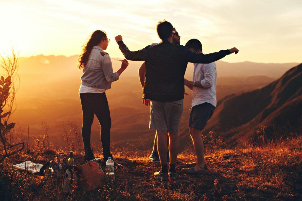 Como escolher o destino para viajar com amigos