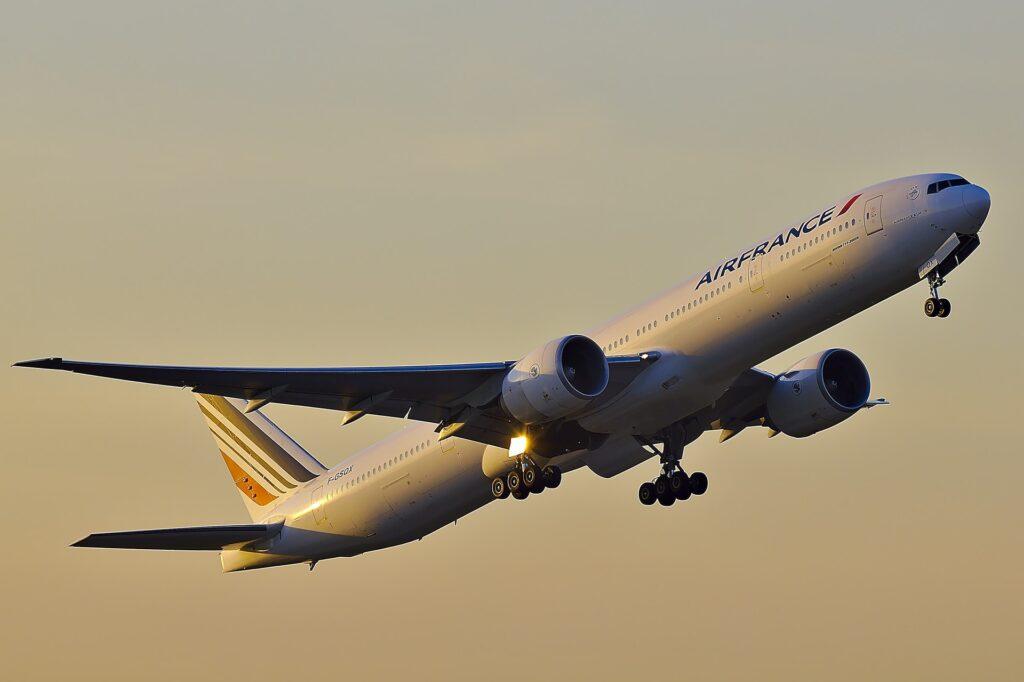 A Air France é a única empresa europeia na lista